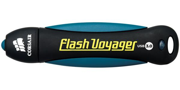 Corsair Flash Voyager USB 3.0 16GB, gumový povrch, nárazu/voděodolný, 200/25MB/s