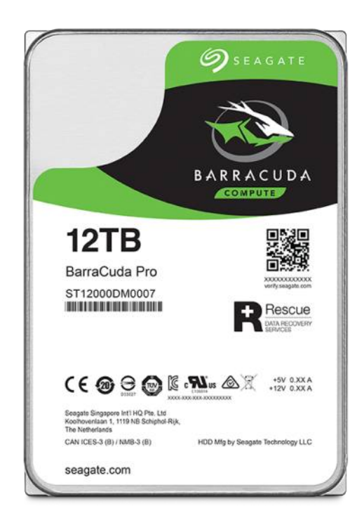 HDD 12TB Seagate BarraCuda Pro 256MB SATAIII