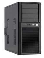 Chieftec PC skříň SH-03B-OP, ATX, bez zdroje (černá)