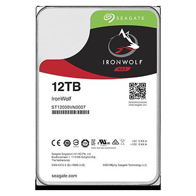 HDD 12TB Seagate IronWolf 256MB SATAIII 7200rpm