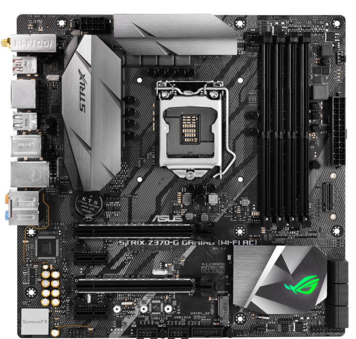 ASUS ROG STRIX Z370-G GAMING(WI-FI) + kaspersky security 1Y