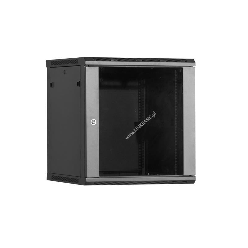 Linkbasic závěsná skříně 19'' 22U 600x450mm - černá