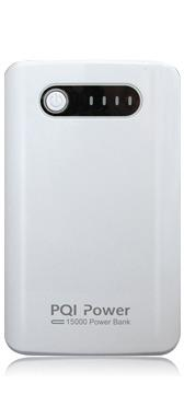 PQI Power 15000 Power Bank externí baterie 15000mAh, bílá