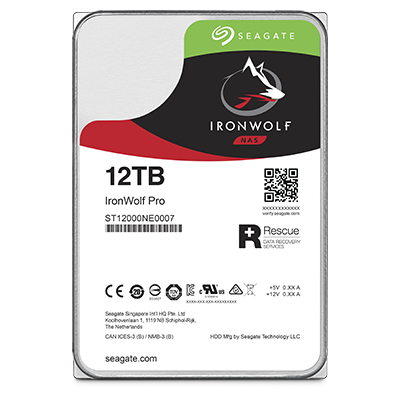 Seagate IronWolfPro HDD 3.5'' 12TB SATA3 7200RPM 256MB