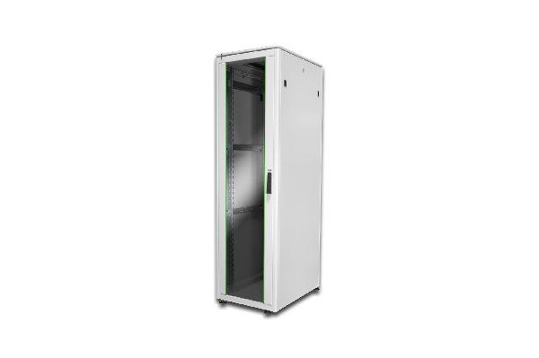 Digitus 42U network cabinet 2053x600x800 mm, color grey (RAL 7035)
