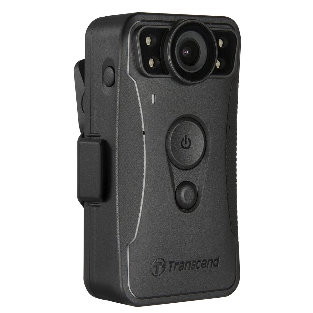 Transcend DrivePro Body 30 osobní kamera, Full HD 1080p, infra LED, 64GB paměť, Wi-Fi, Bluetooth, USB 2.0, IP67, černá