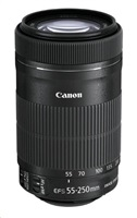 Canon EF-S 55-250mm f/4-5.6 IS STM zoom objektiv
