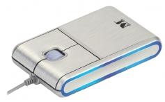 Modecom optická myš MC-901 (stříbrno-modrá)