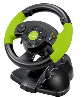 Esperanza EG104 HIGH OCTANE XBOX 360 herní volant s vibr. pro PC/PS3/XBOX