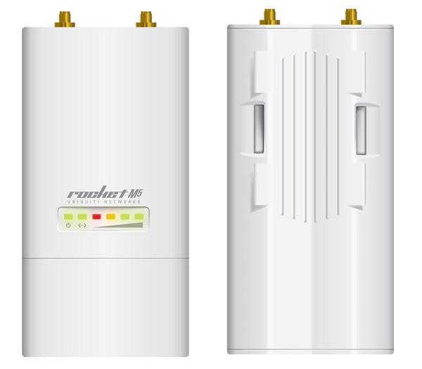 Ubiquiti Rocket M5 5GHz Hi-Power 2x2 MIMO AirMax TDMA BaseStation, 27dBm