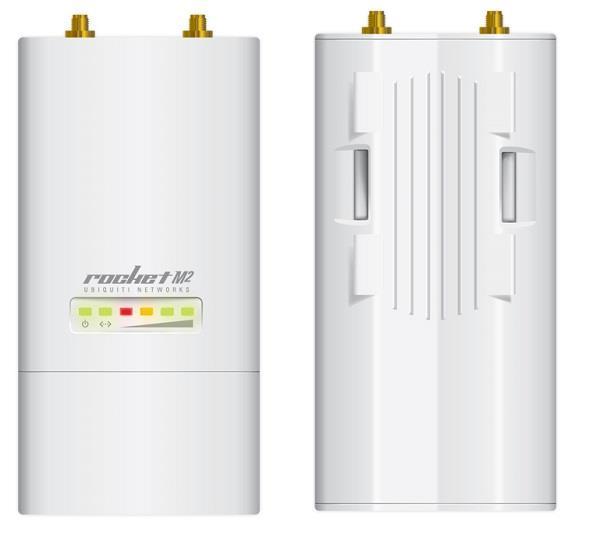Ubiquiti Rocket M2 2.4GHz Hi-Power 2x2 MIMO AirMax TDMA BaseStation, 28dBm