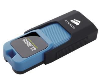 Corsair Flash Voyager Slider X2 USB 3.0 64GB (čtení: 200MB/s; zápis: 90MB/s)