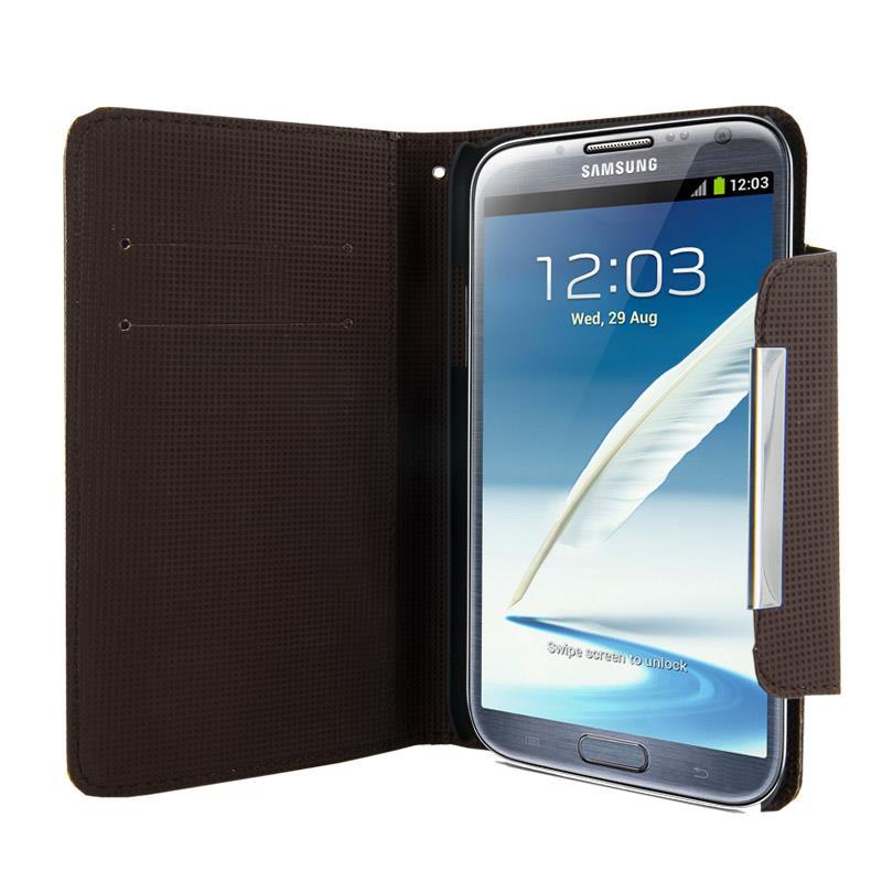 4World Ochranné pouzdro pro Galaxy Note 2, Style, 5.5'', černý