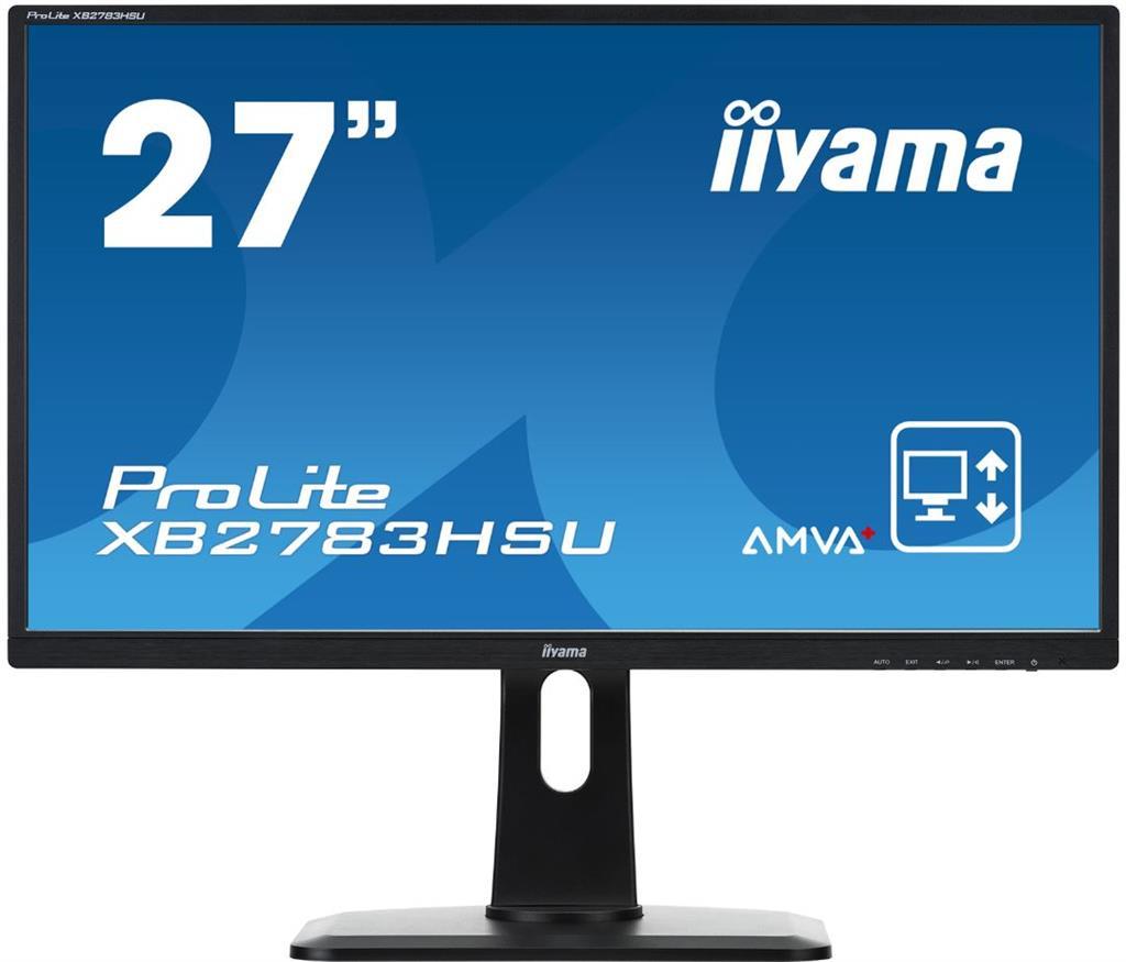 Iiyama LCD XB2783HSU 27'' LED,AMVA+,4ms,VGA/DVI/HDMI,repro,1920x1080,HAS,pivot,č