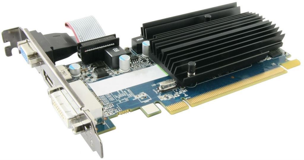 Sapphire Radeon R5 230, 1GB DDR3 (64 Bit), HDMI, DVI, VGA, BULK