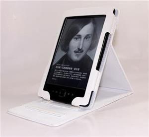 C-TECH pouzdro Amazon Kindle 4/5 se stojan., bílé