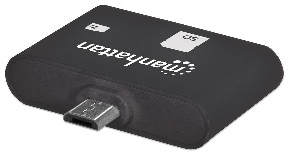 MANHATTAN imPORT SD, USB OTG čtečka karet, 24 v 1