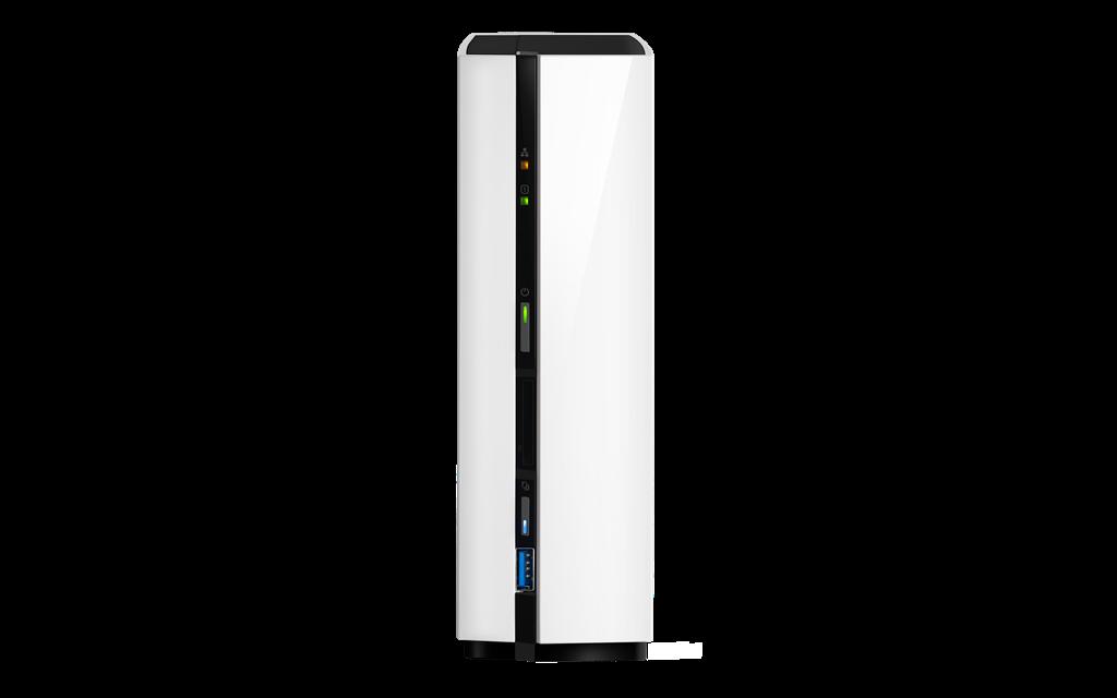 QNAP TAS-168 TWR 1x 3.5 SATA ARM 1,1G DC 2GB 1xGlan