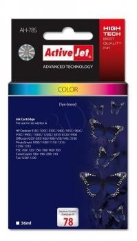 Inkoustová kazeta ActiveJet AH-78S | Barevná | 36 ml | HP HP 78 C6578D