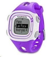 Garmin GPS sportovní hodinky Forerunner 10 Violet and White