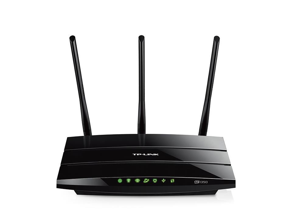 TP-Link Archer C59 AC1350 WiFi DualBand Router, 802.11ac/a/b/g/n, 4x 100Mbit LAN, USB 2.0