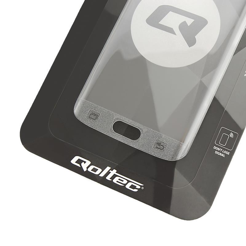 Qoltec tvrzené ochranné sklo premium pro smartphony Samsung S7 edge | full cover