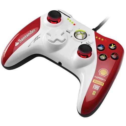 Thrustmaster Gamepad GPX LightBack Ferrari F1 edice, pro PC a Xbox 360