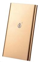 PLUS externí baterie BU008, 5000 mAh, zlatá