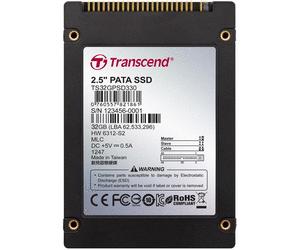 """Transcend PSD330 32GB SSD disk 2.5"""" IDE PATA 44 pin, MLC"""