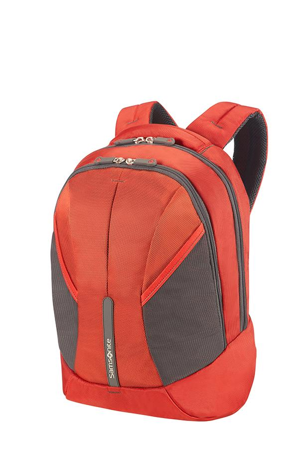 Backpack S SAMSONITE 37N00001 4MATION tblt, doc. pock, keys, red/grey
