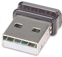 Manhattan WiFi Nano USB 2.0 Adapter, 802.11b/g/n N150 2.4GHz