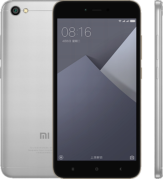 Xiaomi Redmi Note 5A (2GB/16GB), Grey