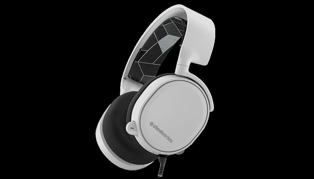 Gaming headset SteelSeries Siberia Arctis 3 White