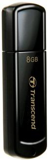 Transcend JetFlash 350 flashdisk 8GB USB 2.0, JetFlash Elite SW, černý