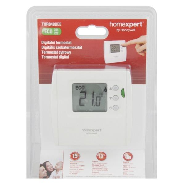 Honeywell termostat THR840DEE, digitální