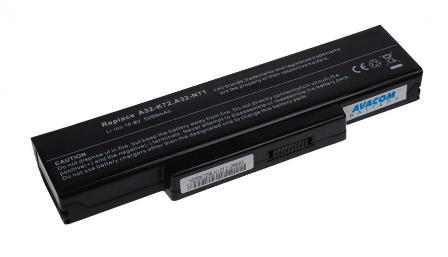 Baterie AVACOM NOAS-K72-S26 pro Asus A72/K72/N71/N73/X77 Li-Ion 11,1V 5200mAh/58Wh