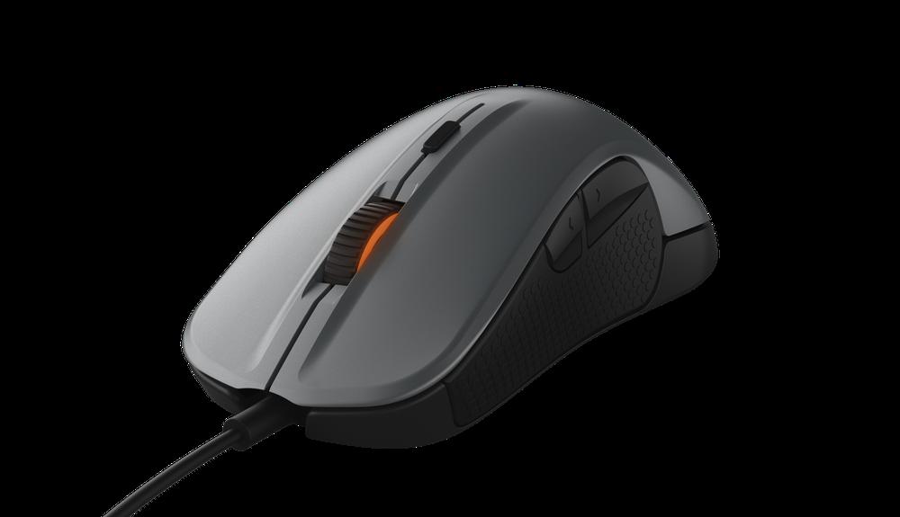 SteelSeries herní myš Rival 300 (stříbrná)