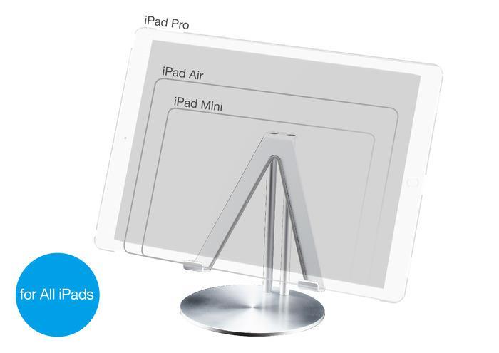 JustMobile UpStand hliníkový stojan pro Apple iPad