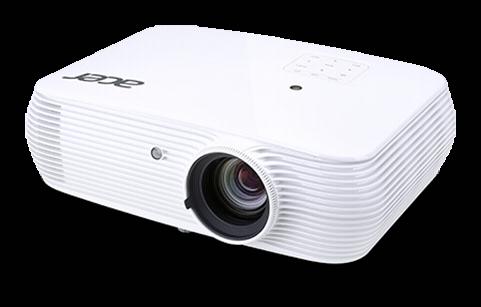 Acer A1300W, DLP/ 1280x800 WXGA /3500 ANSI lm/20 000:1/ HDMI, Rec.709, sRGB, 10W, 2kg