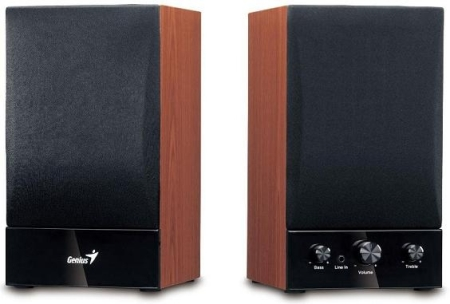 Speaker GENIUS SP-HF 1250B wood 40W