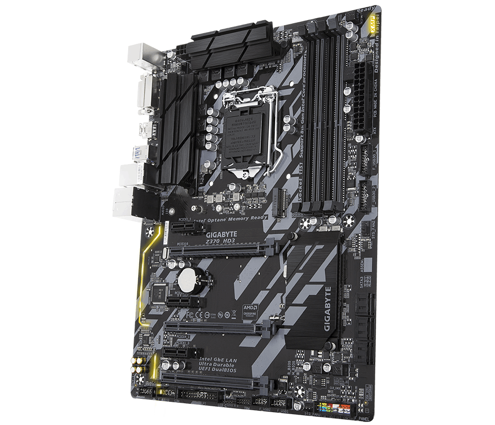 GIGABYTE Z370 HD3 (rev. 1.0)