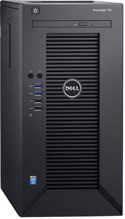 DELL PE T30/E3-1225v5/8GB/2x1TB SATA/DRW/1xGL/1x290W/Win10Pro