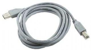Gembird kabel USB 2.0 A -> USB 2.0 B, 1.8m, šedý
