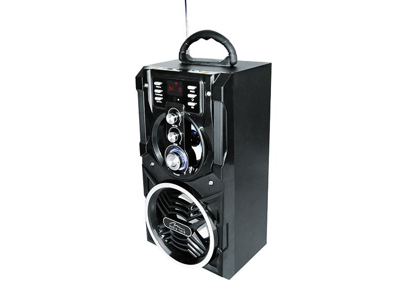 Portable Bluetooth speaker system MediaTech Partybox BT with karaoke function