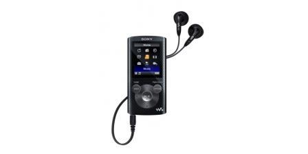 Sony MP4 přehrávač 4GB NWZ-E383 černý,FM,USB
