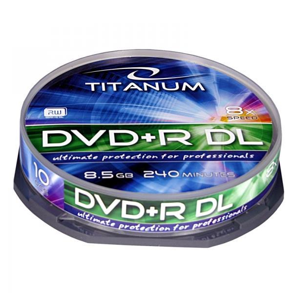 Titanum DVD+R DL [ cake box 10   8.5GB   8x ]