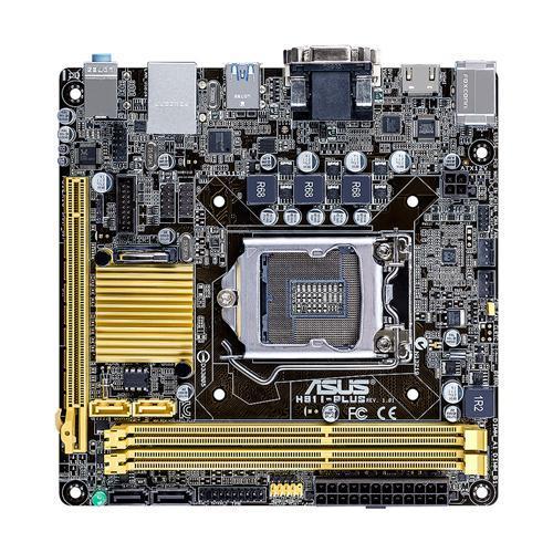ASUS H81I-PLUS, H81, DualDDR3-1600, SATA3, HDMI, mITX