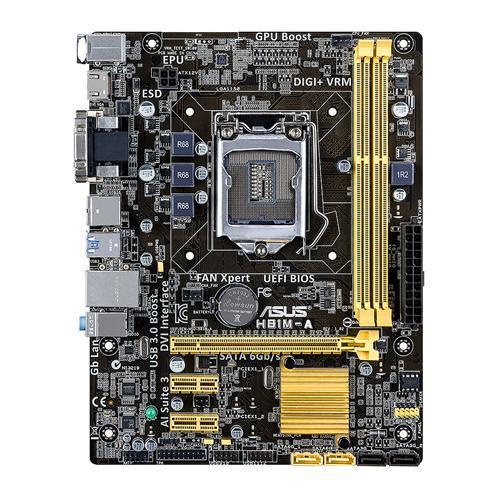 ASUS H81M-A, H81, DualDDR3-1600, SATA3, HDMI, DVI, mATX
