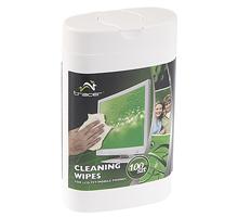Tracer Multi Cleaner čisticí mini utěrky z mikrovlákna na LCD/TFT, 100 ks