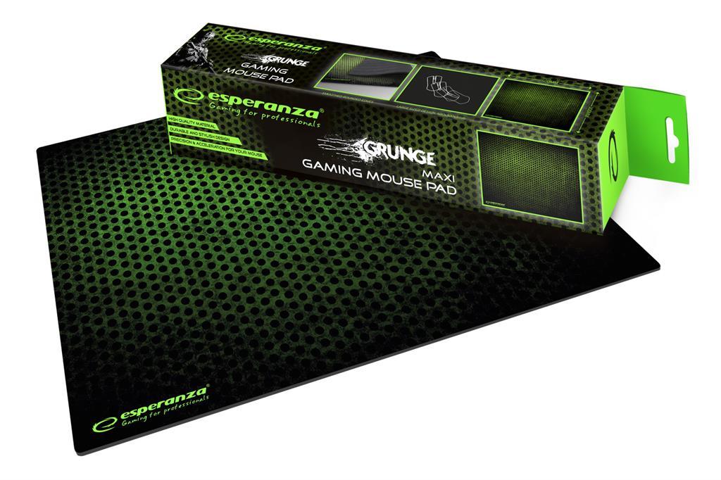 Esperanza EGP103G GAMING CLASSIC MAXI podložka pod myš (400x300x3mm), zelená
